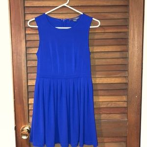 Blue Forever 21 above the knees dress.